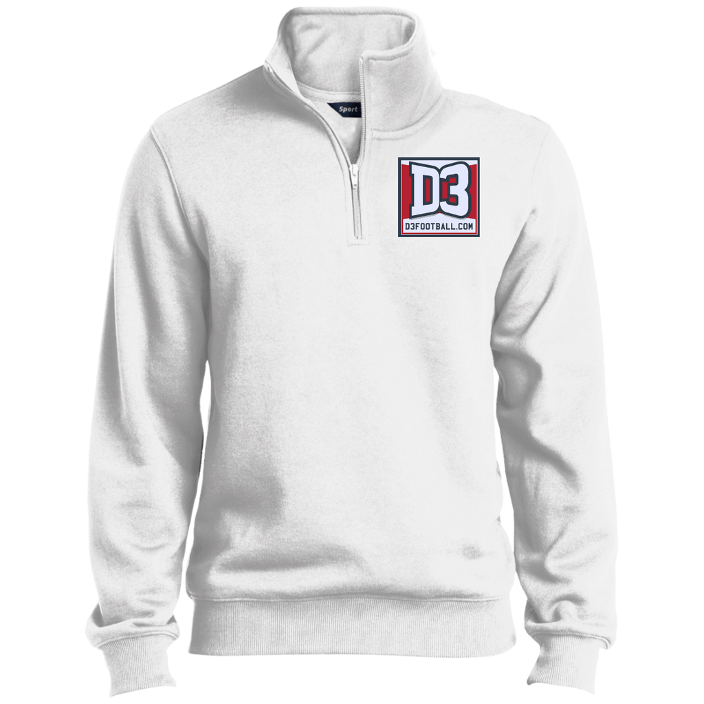 Men's Quarter Zip Sweatshirt - D3Football.com