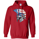 Men's Hooded Sweatshirt - Goshen American Flag