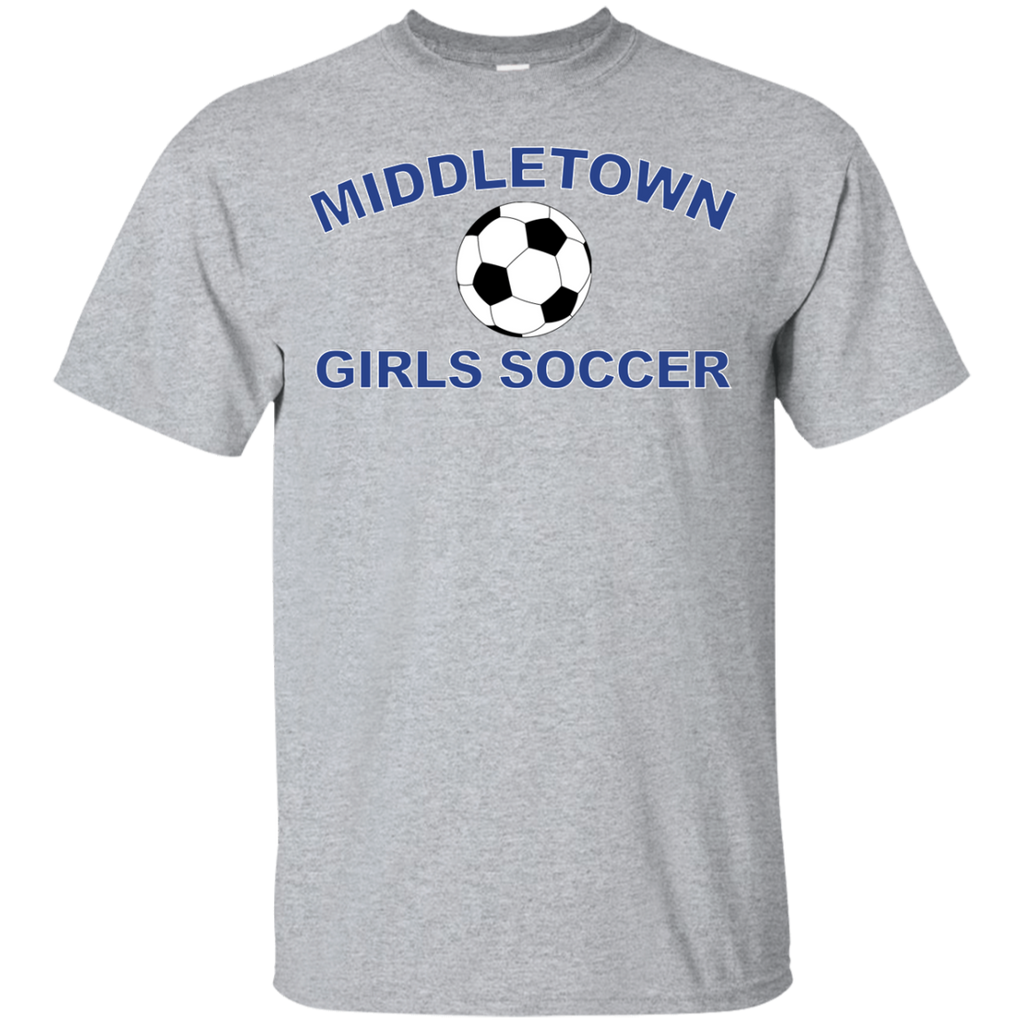 Youth Cotton T-Shirt - Middletown Girls Soccer