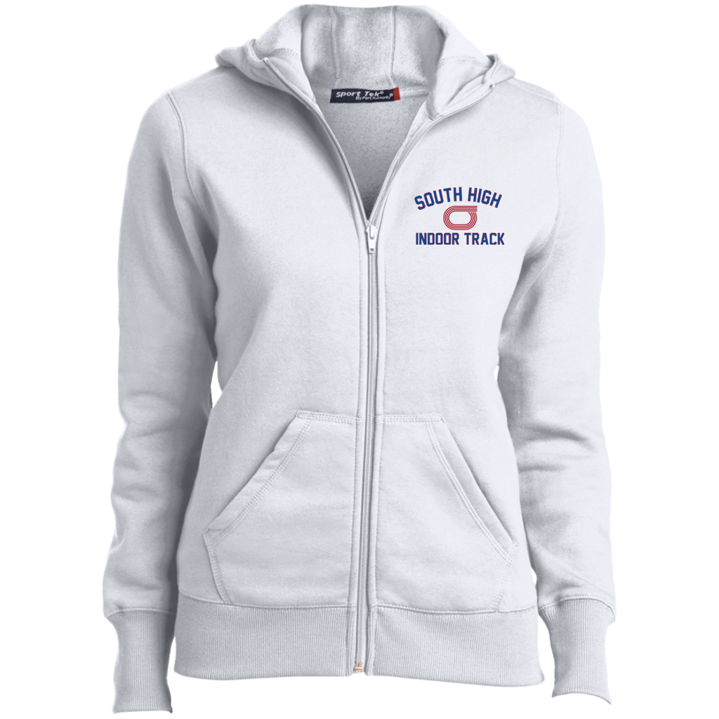 Women's Full-Zip Hooded Sweatshirt - South Glens Falls Indoor Track