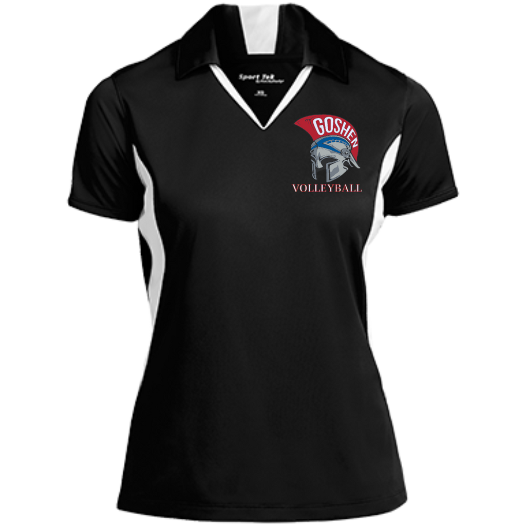 Women's Moisture Wicking Polo - Goshen Volleyball