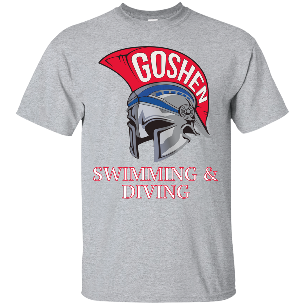 Men's Cotton T-Shirt - Goshen Swimming & Diving