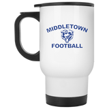 Travel Coffee Mug - Middletown Football