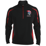 Men's Sport Wicking Half-Zip - Goshen Pride
