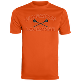 Men's Moisture Wicking T-Shirt - Cambridge Lacrosse