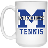 15 oz. Coffee Mug - Middletown Tennis