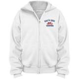 Youth Full-Zip Hooded Sweatshirt - South Glens Falls Swimming