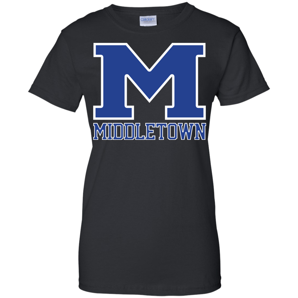 "Women's Cotton T-Shirt - Middletown ""M"""