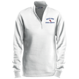 X-Country Vector Logo Outline_Pantone LST253 Sport-Tek Ladies' 1/4 Zip Sweatshirt