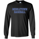 Men's Long Sleeve T-Shirt - Middletown Baseball
