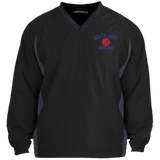 Youth Colorblock V-Neck Pullover - South Glens Falls Bowling