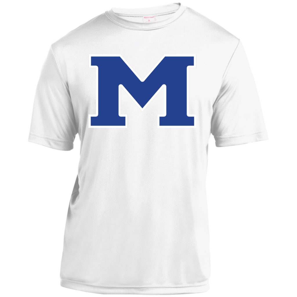 "Youth Moisture Wicking T-Shirt - Middletown Block ""M"""