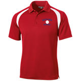 Men's Colorblock Slim Fit Moisture Wicking Polo - South Glens Falls Baseball