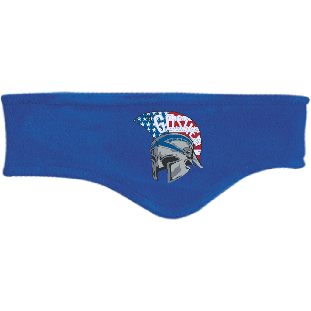 Fleece Headband - Goshen American Flag