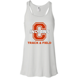 Women's Racerback Tank Top - Cambridge Track & Field - C Logo