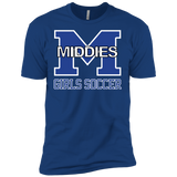 Men's Premium T-Shirt - Middletown Middie Girls Soccer