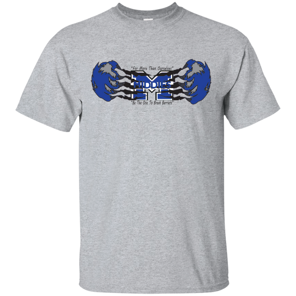 Men's Cotton T-Shirt - Middletown Unified Basketball