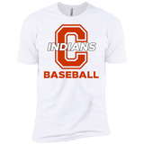 Men's Premium T-Shirt - Cambridge Baseball - C Logo