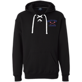 Sport Lace Hooded Sweatshirt - South Glens Falls Lacrosse
