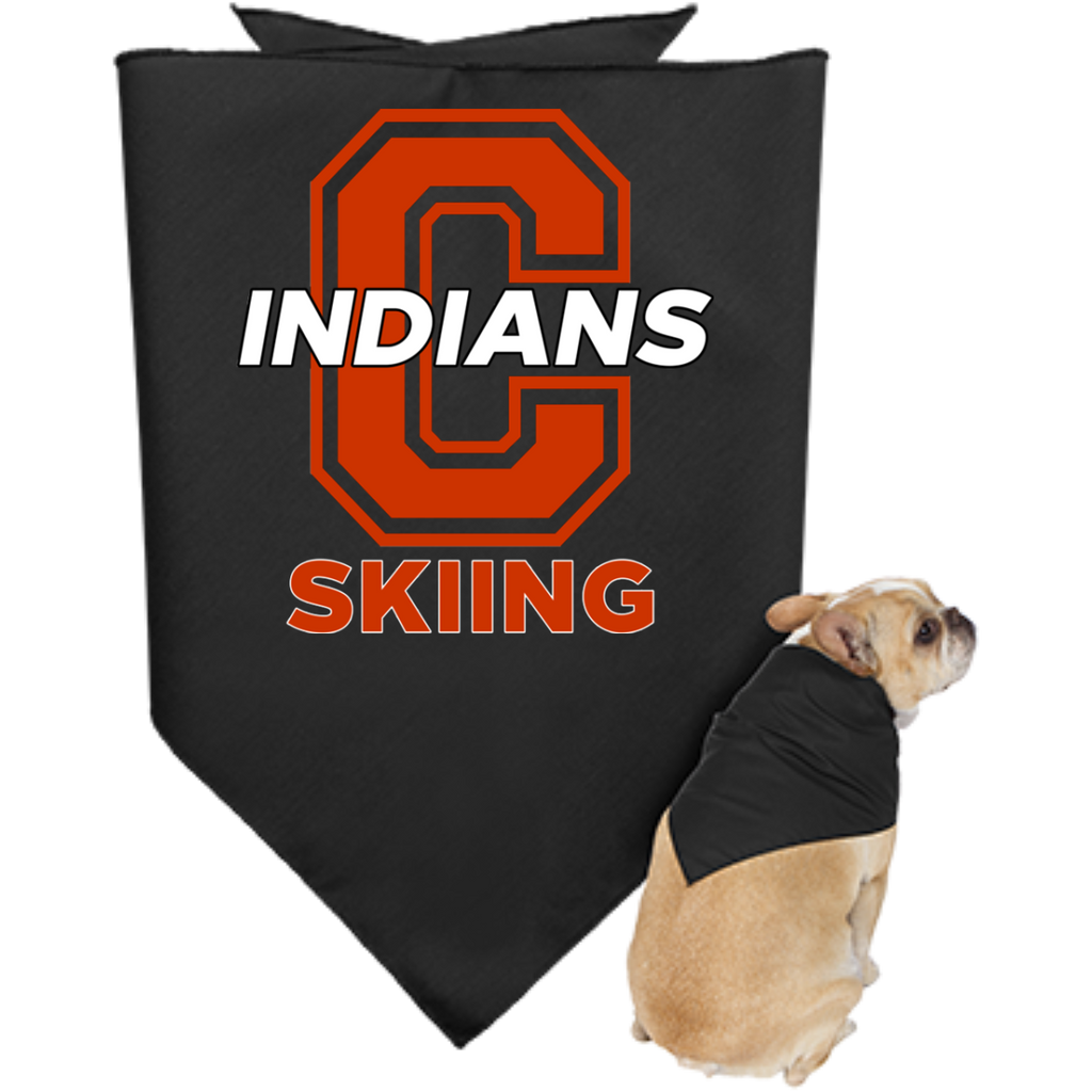 Doggie Bandana - Cambridge Skiing - C Logo