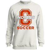 Youth Crewneck Sweatshirt - Cambridge Soccer - C Logo