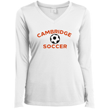 Women's Moisture Wicking Long Sleeve T-Shirt - Cambridge Soccer