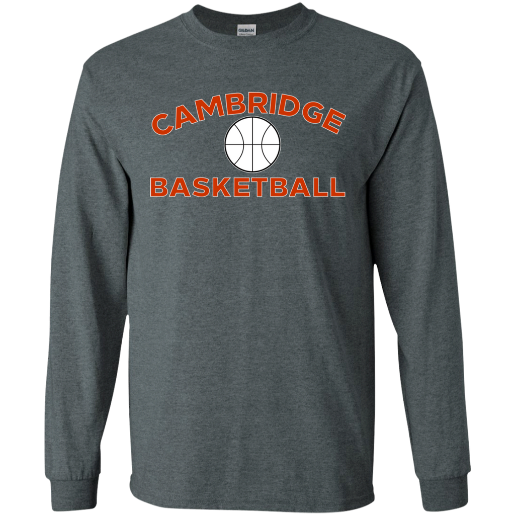 Men's Long Sleeve T-Shirt - Cambridge Basketball