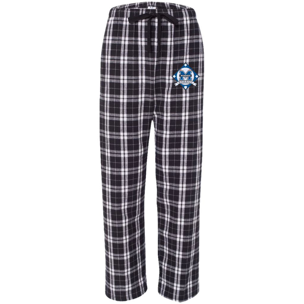 Flannel Pants - Middletown Baseball - Diamond Logo