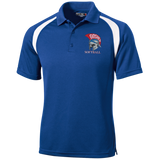 Men's Colorblock Slim Fit Moisture Wicking Polo - Goshen Softball