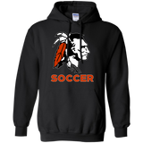 Men's Hooded Sweatshirt - Cambridge Soccer - Indian Logo