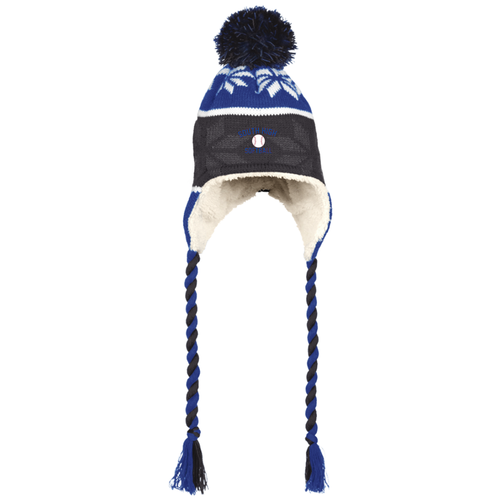 Winter Hat with Ear Flaps - South Glens Falls Softball
