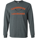 Men's Long Sleeve T-Shirt - Cambridge Lacrosse