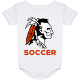 Baby Onesie 24 Month - Cambridge Soccer - Indian Logo