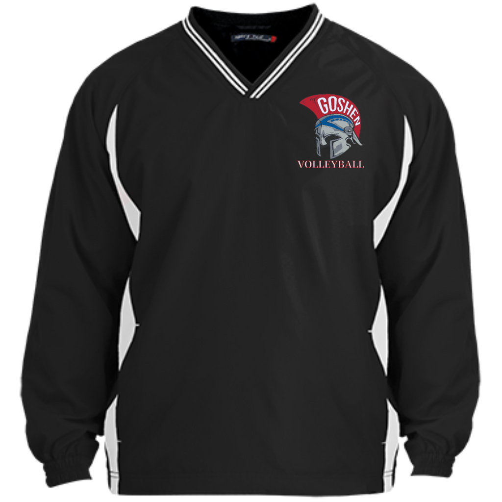Youth Colorblock V-Neck Pullover - Goshen Volleyball