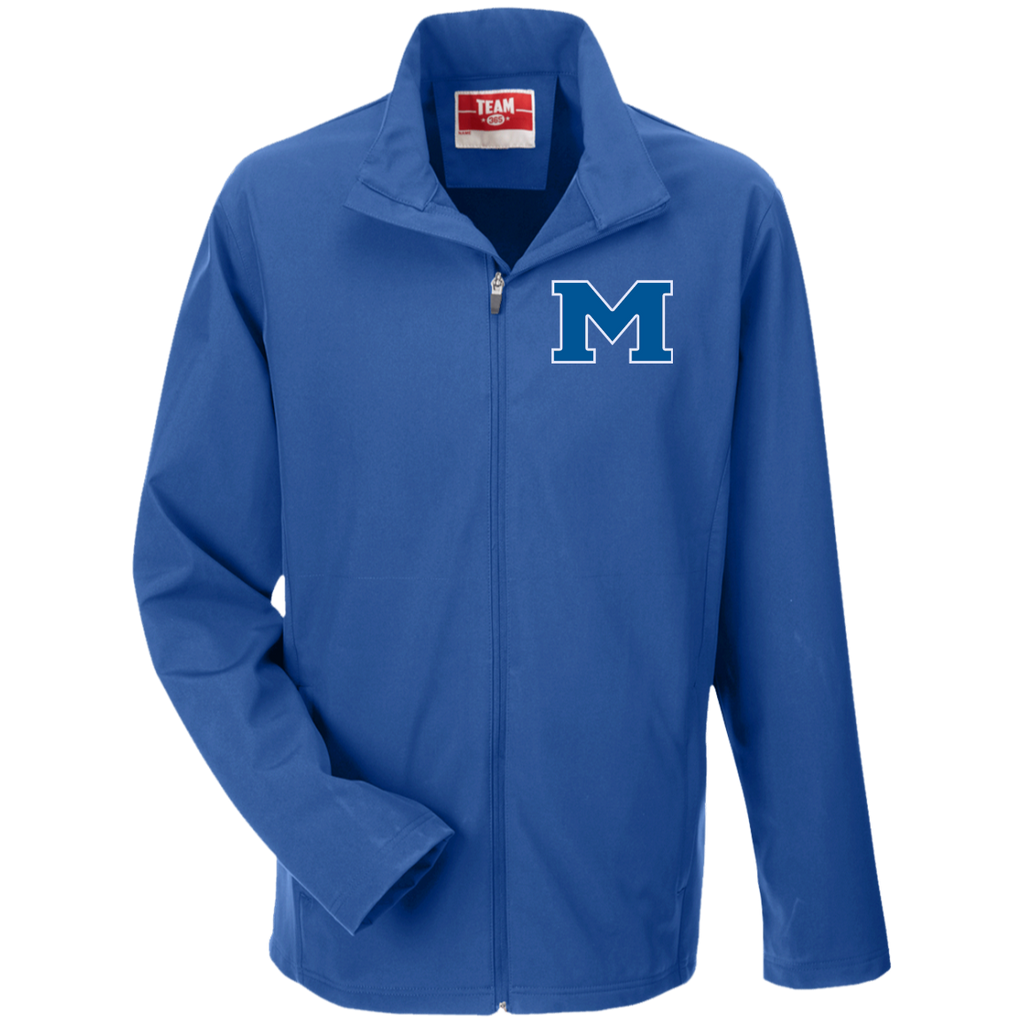 "Men's Soft Shell Jacket - Middletown Block ""M"""