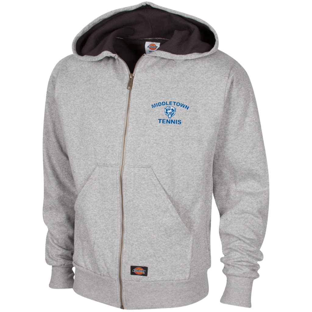 Thermal Fleece Hooded Sweatshirt - Middletown Tennis - Bear Logo