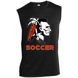 Sleeveless Performance T-Shirt - Cambridge Soccer - Indian Logo
