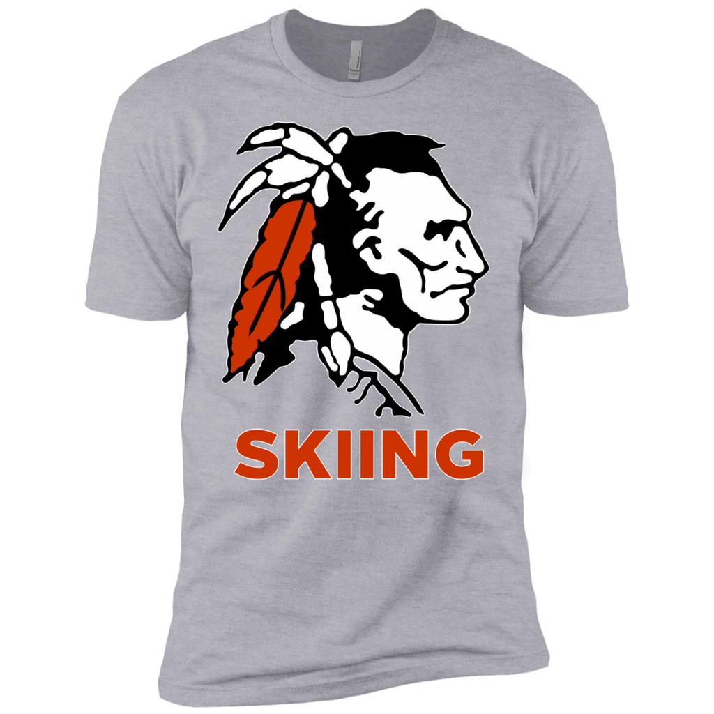 Men's Premium T-Shirt - Cambridge Skiing - Indian Logo