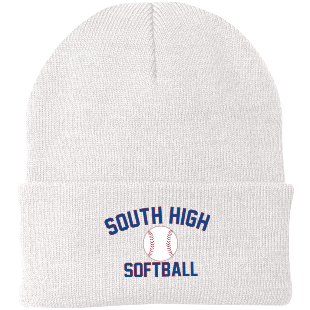 Knit Winter Hat - South Glens Falls Softball