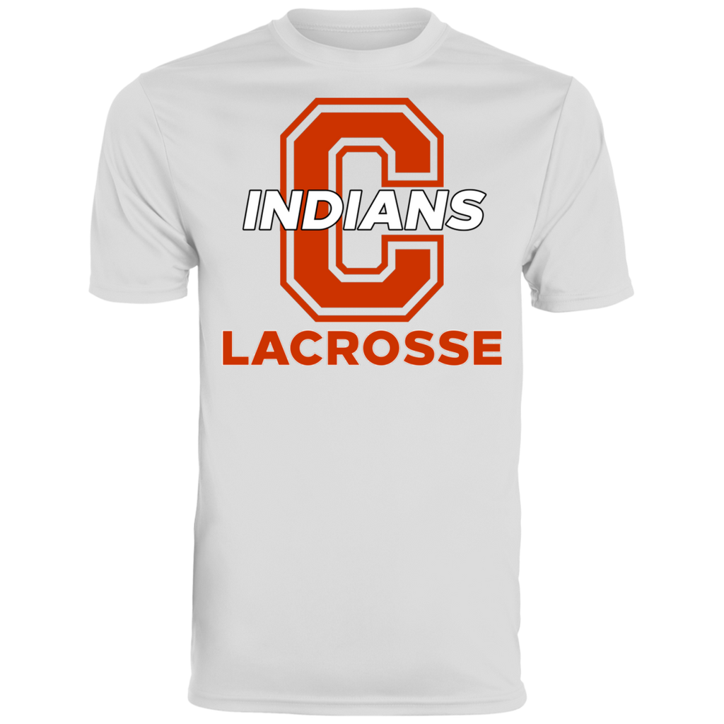 Men's Moisture Wicking T-Shirt - Cambridge Lacrosse - C Logo