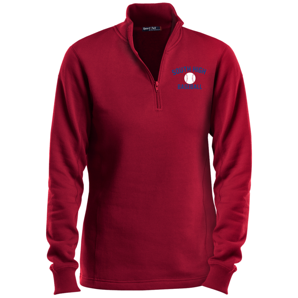 Women's Quarter Zip Sweatshirt - South Glens Falls Baseball