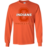 Youth Long Sleeve T-Shirt - Cambridge Track & Field - C Logo