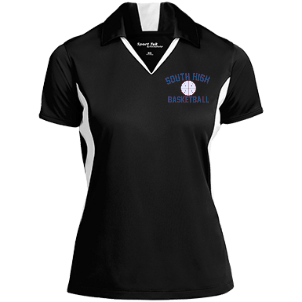 Women's Moisture Wicking Polo - South Glens Falls Basketball