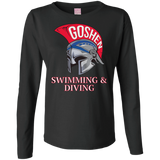 Women's Long Sleeve T-Shirt - Goshen Swimming & Diving