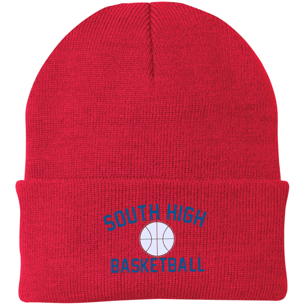 Knit Winter Hat - South Glens Falls Basketball