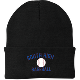 Knit Winter Hat - South Glens Falls Baseball
