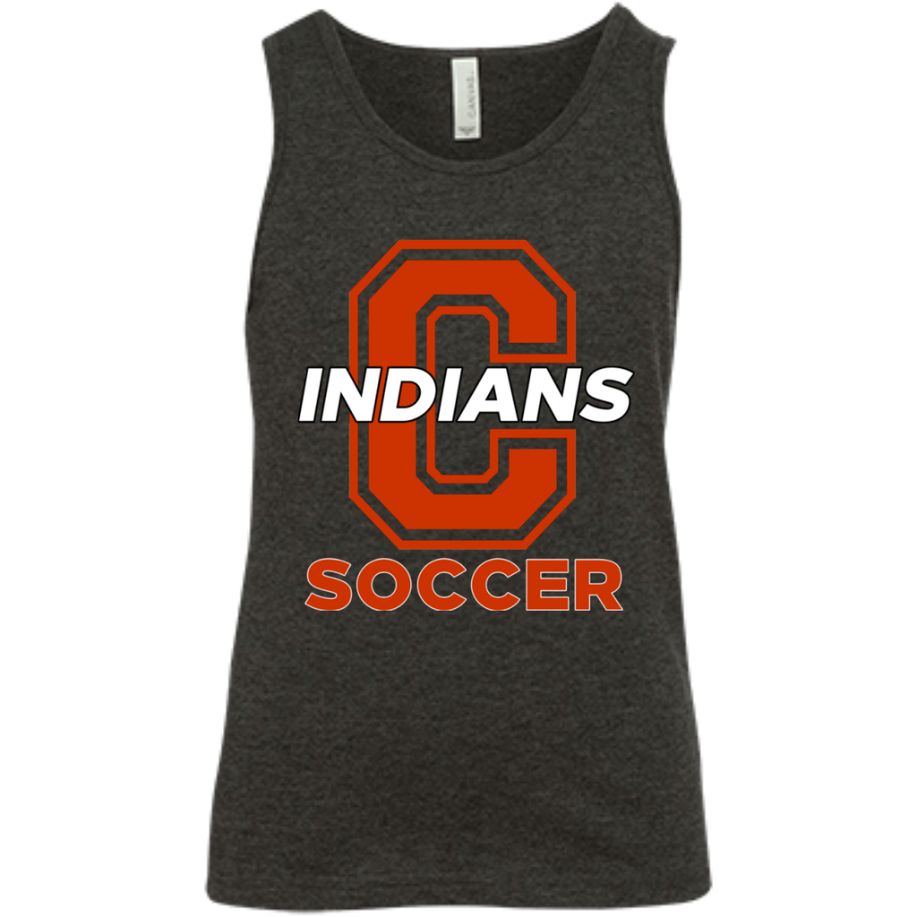Youth Tank Top - Cambridge Soccer - C Logo