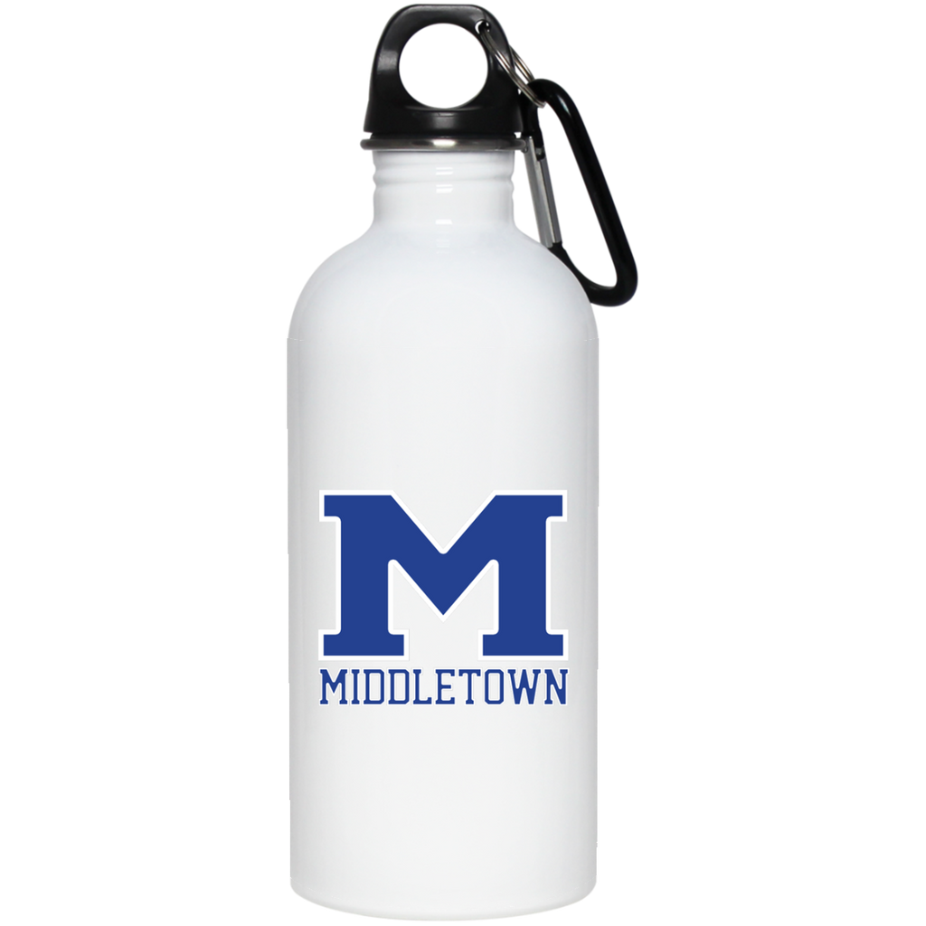 "Water Bottle - Middletown ""M"""