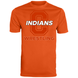 Men's Moisture Wicking T-Shirt - Cambridge Wrestling - C Logo