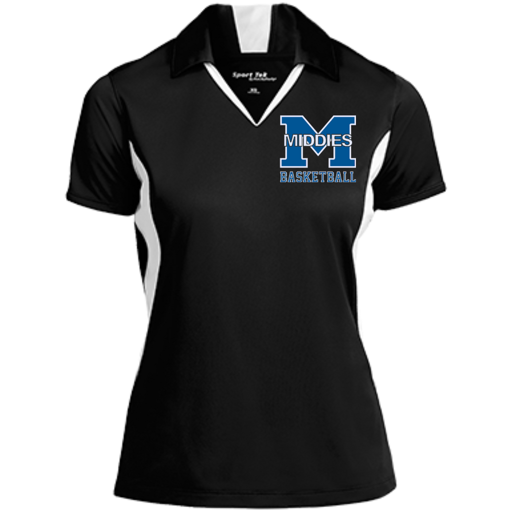 Women's Moisture Wicking Polo - Middletown Girls Basketball